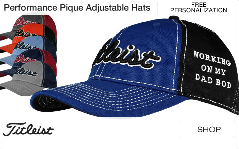 Titleist Performance Pique Adjustable Golf Hats - ON SALE! - Free Personalization