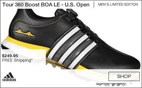 Adidas Tour 360 Boost BOA Golf Shoes - Limited Edition U.S. Open