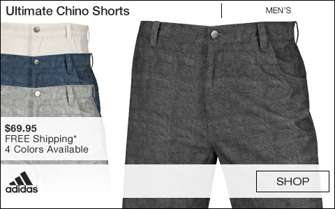 Adidas Ultimate Chino Golf Shorts