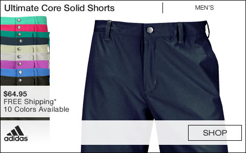 Adidas Ultimate Core Solid Golf Shorts