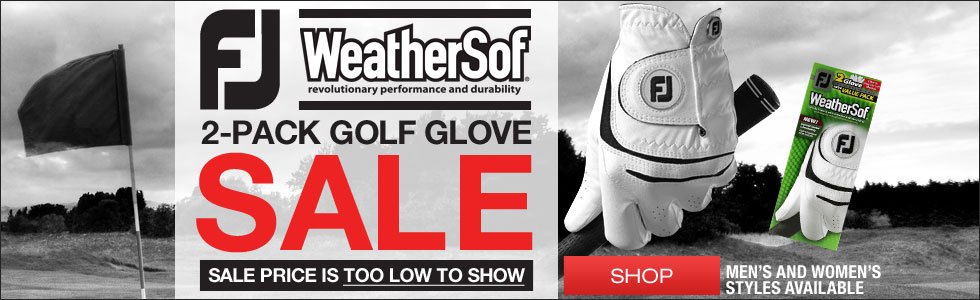 FJ WeatherSof 2-Pack Golf Gloves On Sale