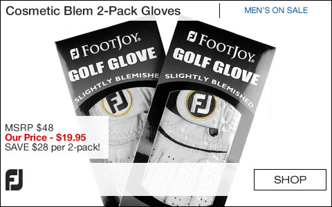 FJ Cosmetic Blem 2-Pack Golf Gloves - ON SALE