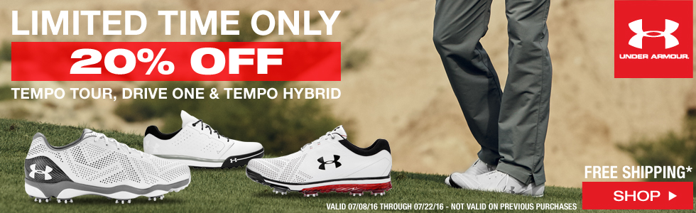 Under Armour Golf Shoes Sale - Limited Time Only