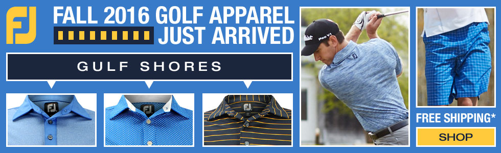 FootJoy Fall 2016 - Gulf Shores Golf Apparel Collection