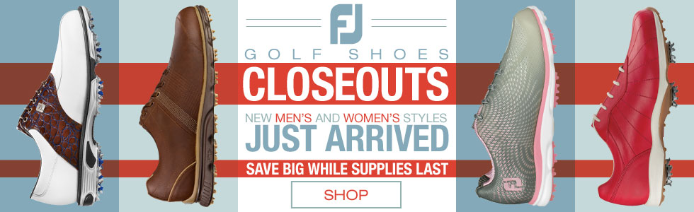 New FJ Golf Shoes Closeouts Just Arrived