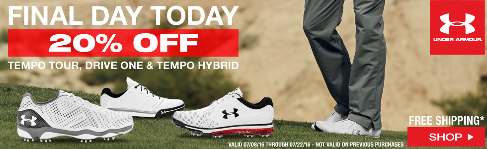 Under Armour Golf Shoes Sale - Final Day Today