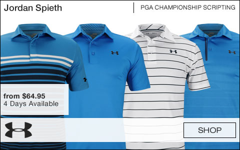 Under Armour Golf Jordan Spieth PGA Championship Golf Shirts