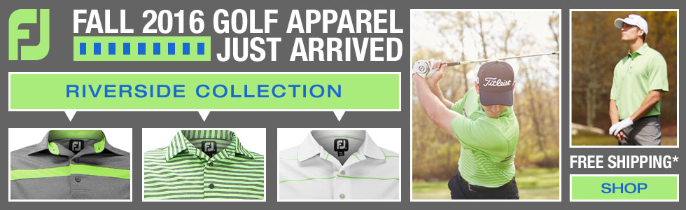 FootJoy Fall 2016 - Riverside Golf Apparel Collection
