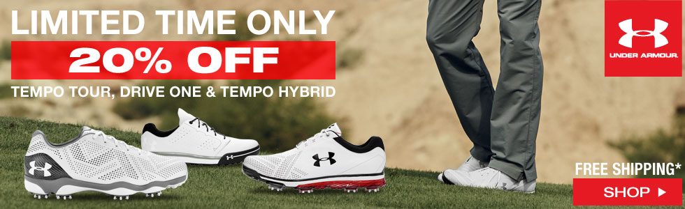Under Armour Golf Shoes 20% Off - Limited Time Offer