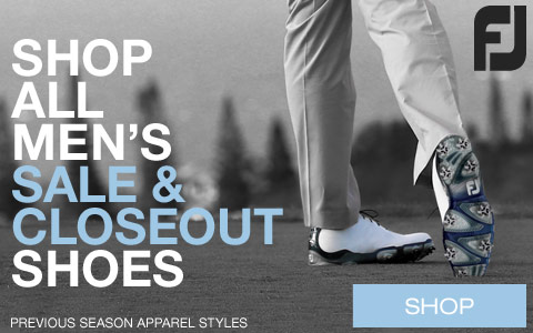 New Sale and Closeout Golf Shoes from FJ