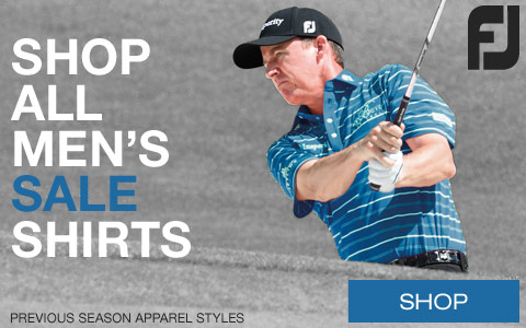 New Styles Just Added - FootJoy Previous Season Golf Shirts Sale