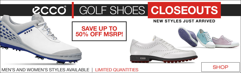 ECCO Golf Shoes Closeouts Have Arrived