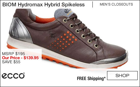 ECCO BIOM Hydromax Hybrid Spikeless Golf Shoes - CLOSEOUTS