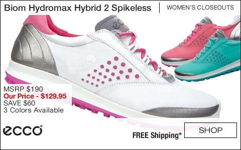 ECCO Biom Hydromax Hybrid 2 Women's Spikeless Golf Shoes - CLOSEOUTS