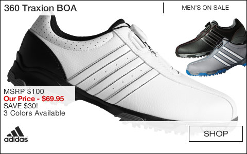 Adidas 360 Traxion BOA Golf Shoes - ON SALE
