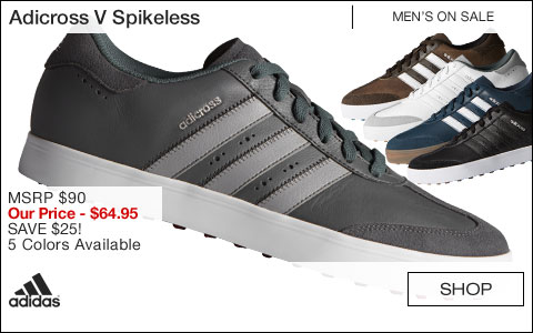 Adidas Adicross V Spikeless Golf Shoes - ON SALE