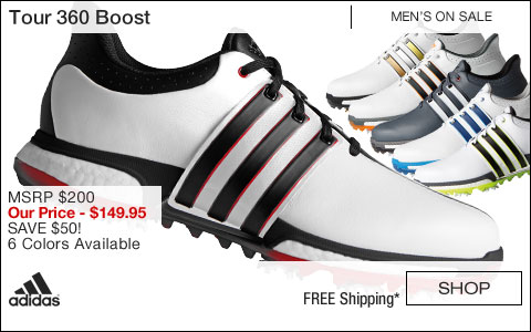 Adidas Tour 360 Boost Golf Shoes - ON SALE