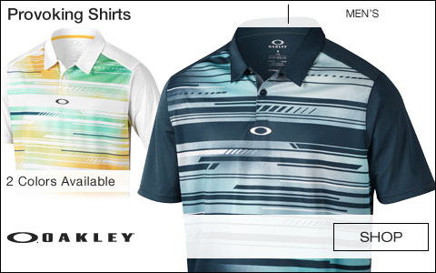 Oakley Provoking Golf Shirts