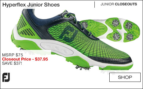 FJ Hyperflex Junior Golf Shoes - CLOSEOUTS