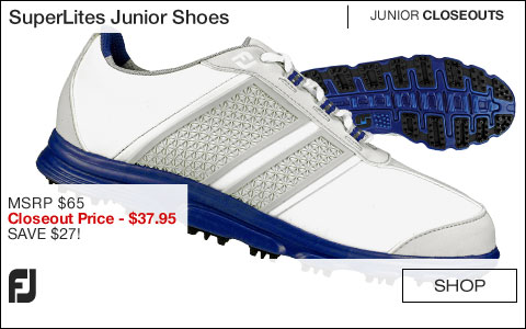 FJ SuperLites Junior Golf Shoes - CLOSEOUTS