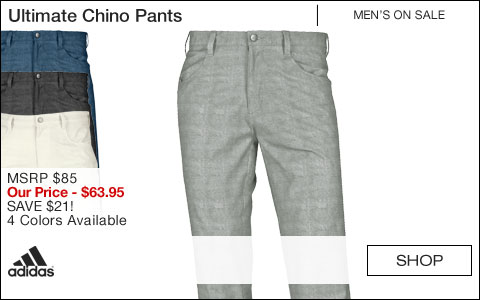 Adidas Ultimate Chino Golf Pants - ON SALE