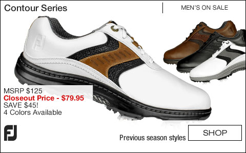FJ Contour Series Golf Shoes - ON SALE