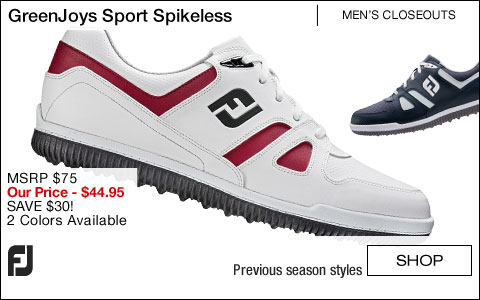 FJ GreenJoys Sport Spikeless Golf Shoes - CLOSEOUTS