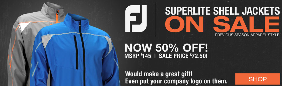 FJ Superlite Shell Golf Jackets - ON SALE