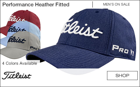 Titleist Performance Heather Fitted Golf Hats - ON SALE