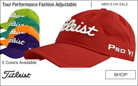 Titleist Tour Performance Fashion Adjustable Golf Hats - ON SALE