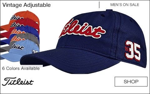 Titleist Vintage Adjustable Golf Hats - ON SALE