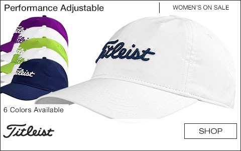 Titleist Women's Performance Adjustable Golf Hats - Free Personalized Text - ON SALE