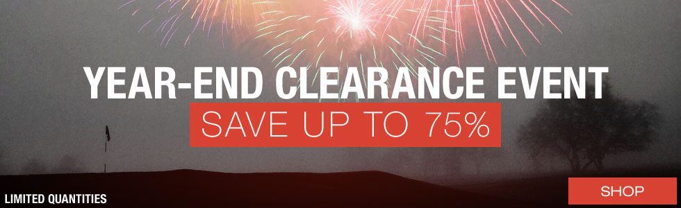 Year-End Clearance Event at Golf Locker