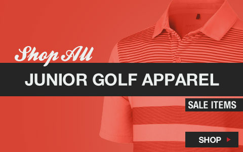Click Here to Shop All Junior Golf Apparel Sale Items