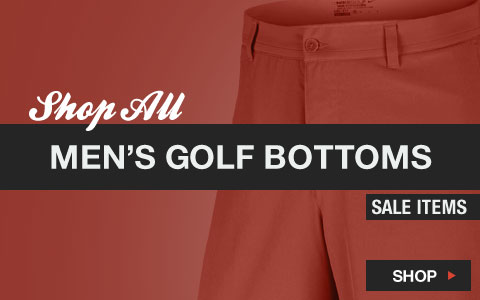 Click Here to Shop All Men's Golf Bottoms Sale Items