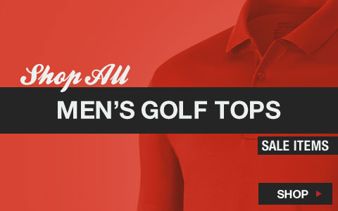 Click Here to Shop All Men's Golf Tops Sale Items