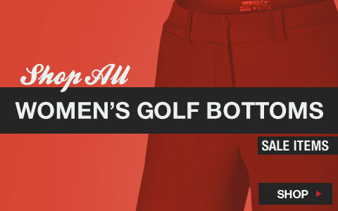 Click Here to Shop All Women's Golf Bottoms Sale Items