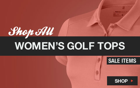 Click Here to Shop All Women's Golf Tops Sale Items