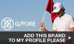 Click here to add G/FORE to your My Golf Locker Profile