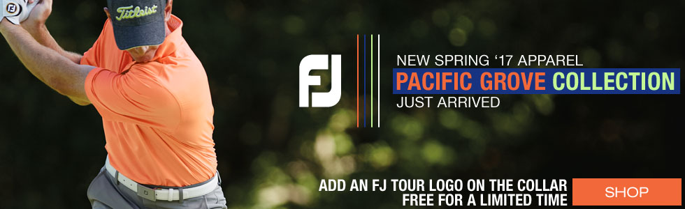 FJ Spring 2017 Golf Apparel - Pacific Grove Collection