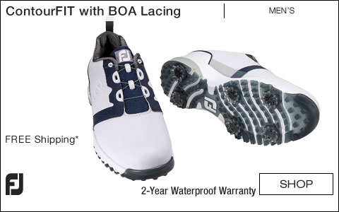 FJ ContourFIT Golf Shoes with BOA Lacing System