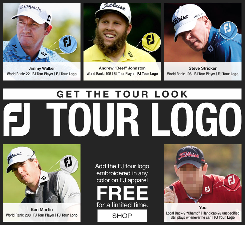 FootJoy FJ Tour Logo Golf Shirts and Golf Apparel