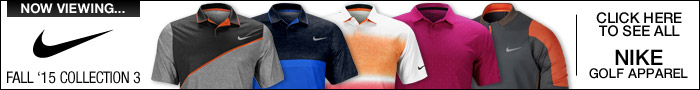 Nike Fall '15 Collection 3 Golf Apparel - Click Here to Shop All Nike Apparel