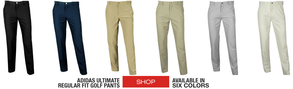 Adidas Ultimate Regular Fit Golf Pants