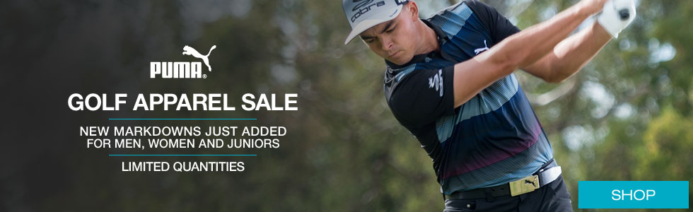 PUMA Golf Apparel Clearance Sale