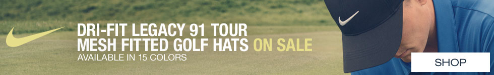 Nike Dri-FIT Legacy 91 Tour Mesh Fitted Golf Hats - ON SALE