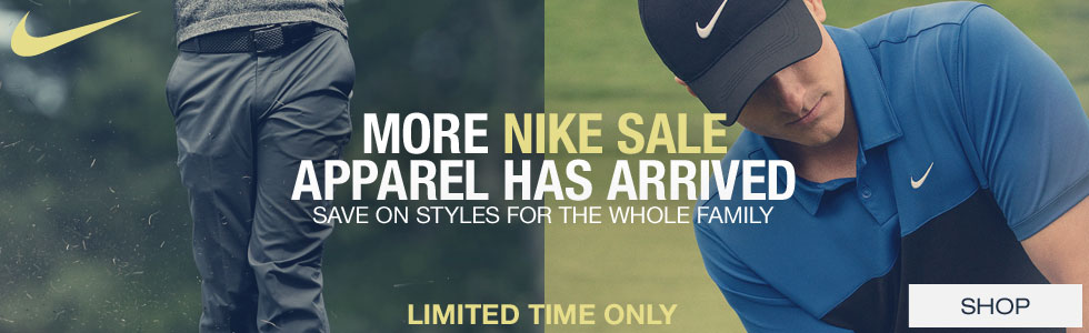 Nike Golf Apparel Sale - More Styles Just Arrived