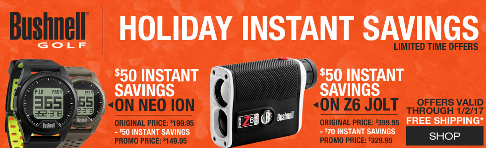 Bushnell Holiday Instant Savings