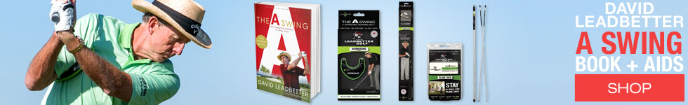 David Leadbetter Golf The A Swing Book and Accessories