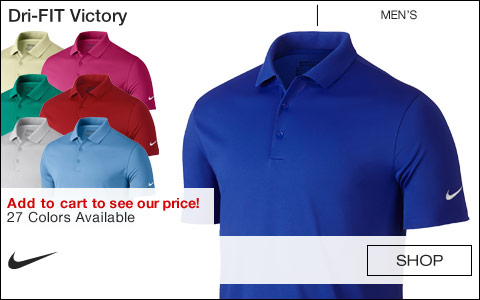 Nike Dri-FIT Victory Golf Shirts